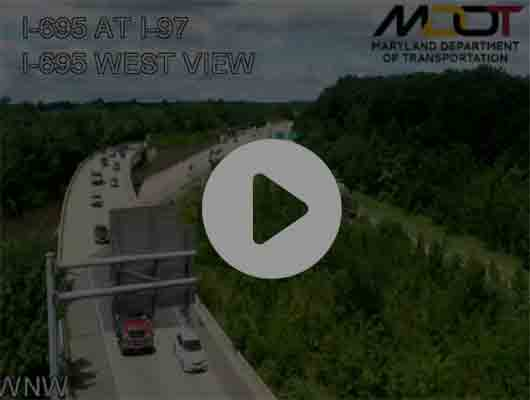 Traffic Cam I-80/94 at Torrence Avenue Player